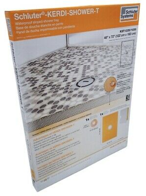"Schluter Shower Tray 48""x72"""