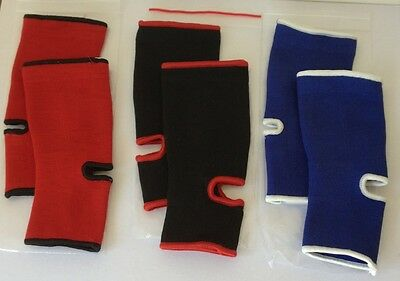 Muay Thai Ankle Brace Support Guard - Kick Boxing MMA Martial Arts