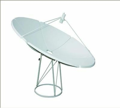 240cm 2.4m C-band Stationary Dish Prime Focus Cband Big Dish BUD 2.4 Meter