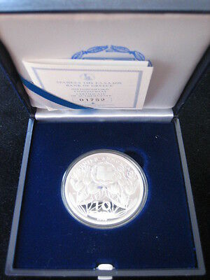 """Mds Griechenland 10 Euro 2006 Pp / Proof """"nationalpark Olymp - Zeus"""", Silber #49"""