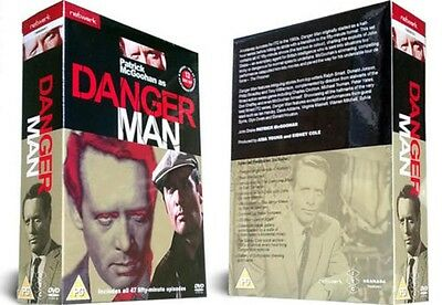 DANGER  MAN - The Complete Series  13-Disc Set    New & Sealed     Fast  Post