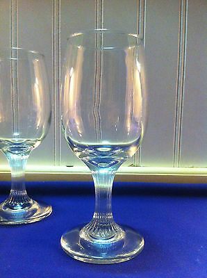 White Wine Bar Catering Stemware Sysco/libbey 6.5Oz Silhouette Style Case Of 36