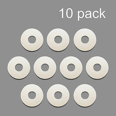 10 Pack Nylon Washer Replacement Gasket for CO2 Regulators Kegerator Draft Beer