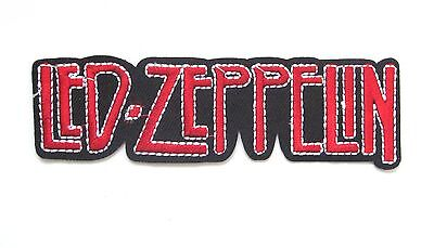 Led Zepplin Iron On Patch- Music Bands Rock Metal Badge Appliques Sew Patches