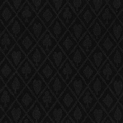 10FT X 5FT Black Suited Speed Cloth Poker Table Felt 100% Polyester