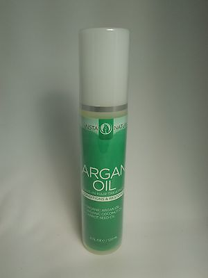 Instanatural Argan Oil Hair Treatment Leave In Conditioner Color Safe Dry Damage