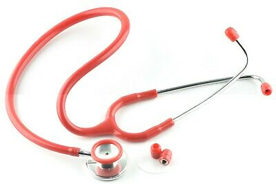 Single Head Stethoscope Medical EMT Nurse Doctor  Student Adult 5 Color Option