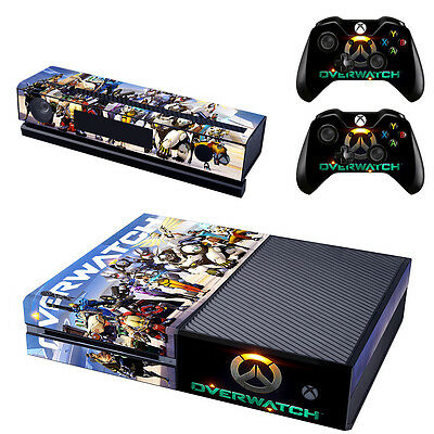 Overwatch Decal Skin Sticker Cover Protector For XBOX ONE & Controller Console