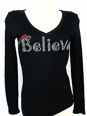 "Bling Rhinestone /""BRIDESMAID/"" Next Level Woman CVC V-neck Tee."