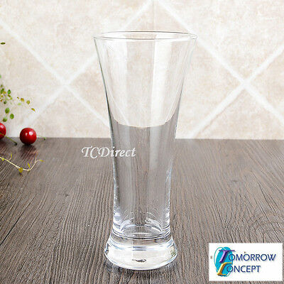 6x 320ml Pilsner Beer Glasses Cafe Restaurant Bar Drinking (BJ1071)