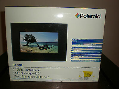 POLAROID 7 DIGITAL Photo Frame New In Box