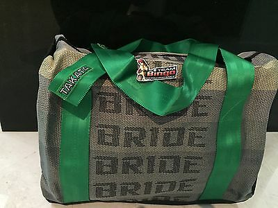 BRIDE Harness Travel Bag Carry On School & Gym JDM Australian Supplier