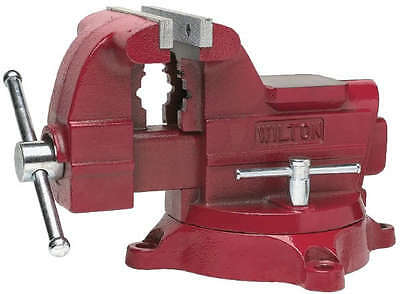 "674 Wilton (Best Name In Vises) Utility Workshop Vise 4-1/2"" Jaw Swivel Base New"