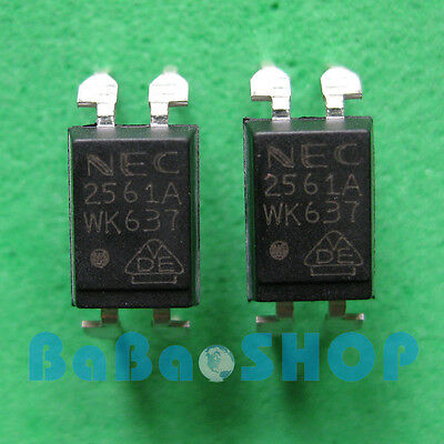 6pcs NEC2561A NEC2561 2561A 2561 PS2561A PS2561 NEC PHOTOCOUPLER DIP-4 Brand New