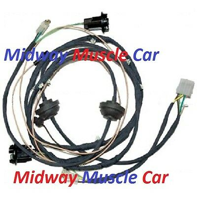 rear body panel tail light wiring harness 64 65 66 67 ... 65 chevy truck wiring tail light truck led tail light wiring diagram #11