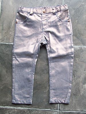 BNWNT Girl's Sprout Gold Sparkly Jeans Size 2