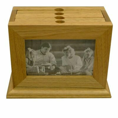 Wooden Photo Box - 72 Photo Album and 6x4 Photo Frame