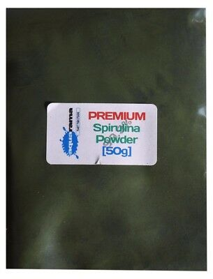 Aquarama Premium Spirulina Powder Tropical Fish / Brine Shrimp Food [50g]