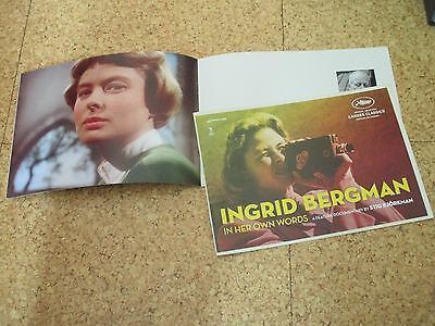INGRID BERGMAN In her own words  Pressbook CANNES 2015 Stig Björkman