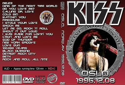 Kiss Oslo Norway 12 8 1996