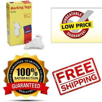 1000 PACK Avery Marking Price Tags. White Label Strings Sale Discount Storage