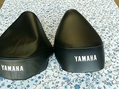 YAMAHA CA50 RIVA 1983-1986 NEW HIGH QUALITY REPLACEMENT BLACK SEAT COVER