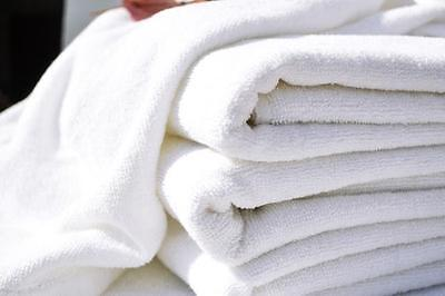 20 xPcs Wholesale Job Lot 100% Cotton Velour Hotel & Spa Bath Towel Bath Sheets