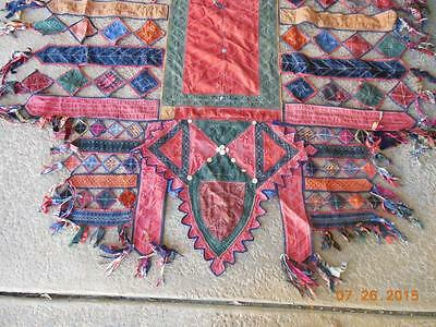 """Antique Camel cover to carry Tekke Turkeman bride to her wedding 80 x 64"""""""