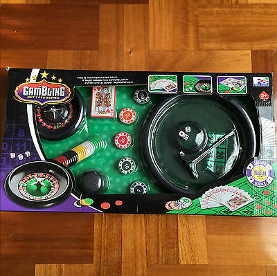 Gambling Bet Toys Series Casino Board Game Professional Poker Chip Card Roulette