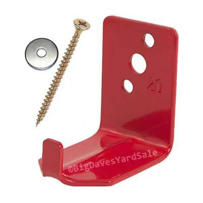 1 - Universal Wall Hook, Bracket or Hanger for 15 to 20 lb. Fire Extinguisher