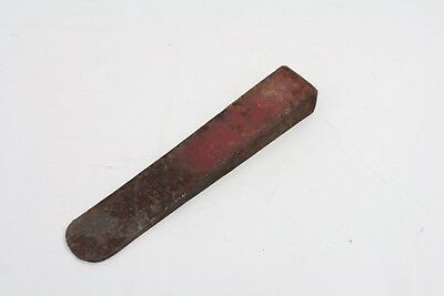 "Vintage Metal Log Wood Splitter Chisel 9 1/2"" Long"