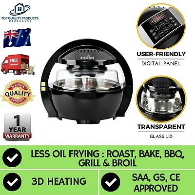 New 13L Air Fryer LCD Multifunctional Healthy Cooker Low Fat Oil Free Airfryer