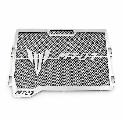 Radiator Grille Guard Cover Protector For Yamaha MT-07 FZ-07 2013-2016 Black BS4