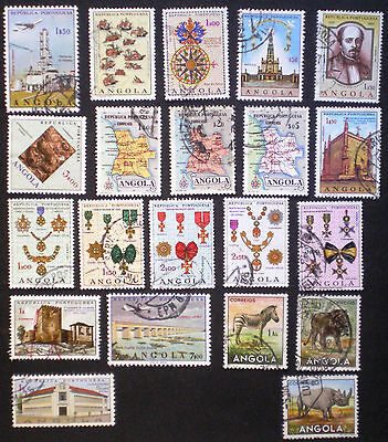 Angola - fine lot of used stamps