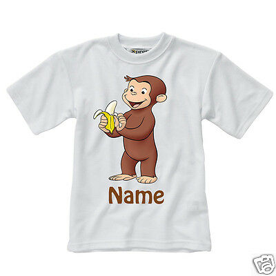 Personalised Children's T-Shirt - Curious George