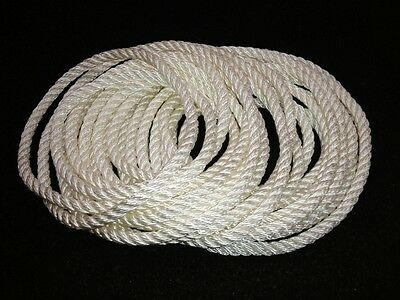 20m x 8mm NYLON ROPE Very Strong. Top quality Nylon Rope