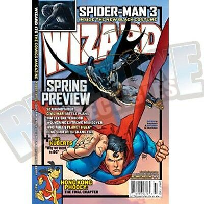 Wizard The Comic Magazine #175 Vf