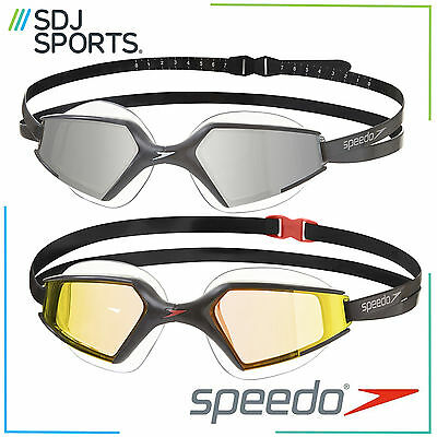 Speedo Aquapulse Max Mirror Adult Mirrored Swimming Goggles With Anti-Fog