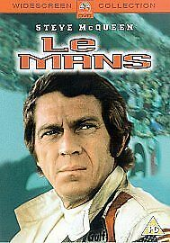 LE MANS DVD Steve McQueen Movie Brand New Sealed UK Film Car Racing Competition