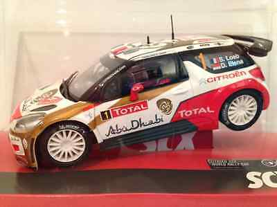 "SCX A10158 Citroen DS3 WRC ""Abu Dhabi"" 1:32 Scale NEW and Boxed"