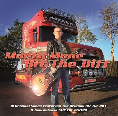Marty Mone Hit The Diff CD including SLIP THE CLUTCH UK SELLER FREE UK P&P