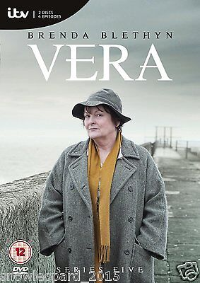 VERA COMPLETE SERIES 5 DVD Fifth 5th Season Five Brand New Sealed UK Release R2