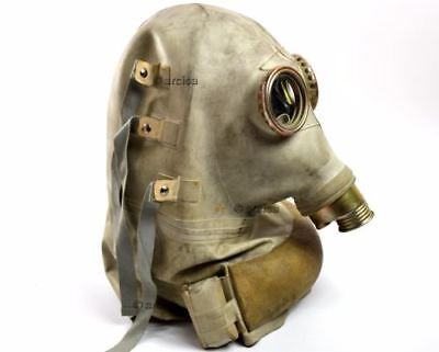 Soviet era Polish Military, army gas mask SR-1. Rare scary gas mask. nos. medium