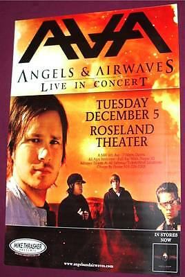Angels and Airwaves Concert Poster of Blink 182