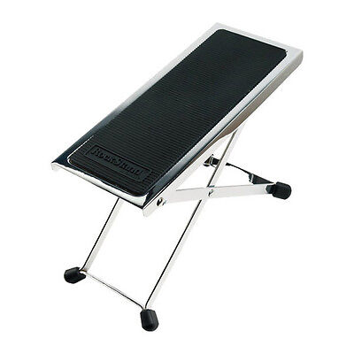 Rockstand Metal Footrest for guitarists, Nickel