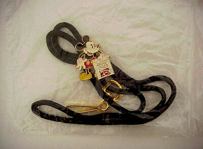 Disney Interactive Mickey Mouse Lanyard Cast Member Exclusive