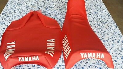 Yamaha YZ250 YZ490 replacement seat cover 1982