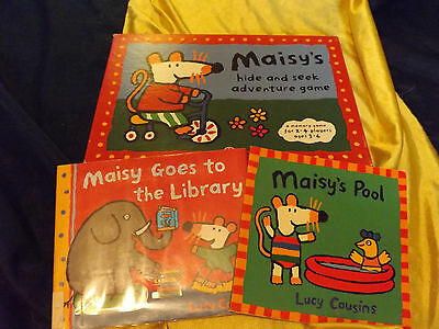Maisy Lucy Cousins Memory Game & Books