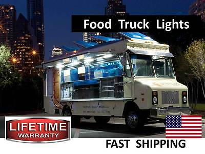 New or Used Stainless Food Cart, Truck, Trailer LED Lighting KITS - LOW Power