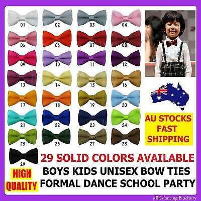 Boys Kids Child Boy Bow Ties Bowtie  Bow Tie Pretied Tuxedo Dance Wedding Party